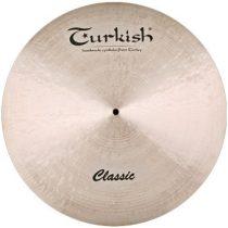 """Turkish Classic 20"""" PAPER THIN Crash cintányér, C-CPT20"""