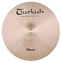 "Turkish Classic 19"" Thin Crash cintányér,  C-CT19"