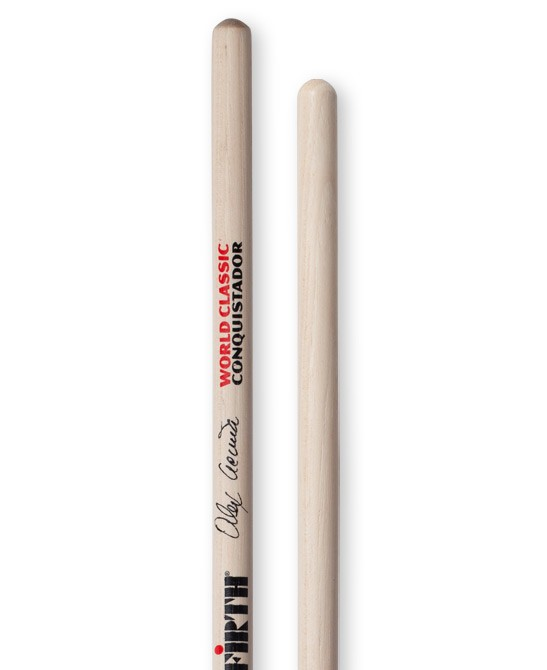 Vic Firth World Classic Alex Acuna Conquistador (clear) timbale dobverő