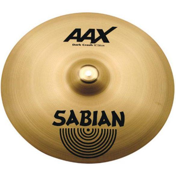 """Sabian 15"""" AAX Dark crash"""