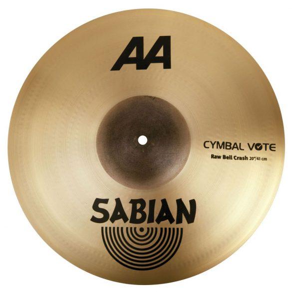 "Sabian AA 20"" Raw Bell Crash Br. 2200772B"