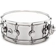 "Drum Workshop Stainless Steel  USA 14"" x 5,5"" pergődob, 802427"