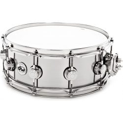 "Drum Workshop Stainless Steel  USA 14"" x 5,5"" pergődob, 802427"