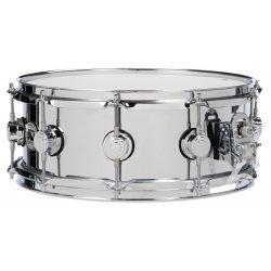 """Drum Workshop Stainless Steel  14"""" x 6,5"""" pergődob, 802428"""