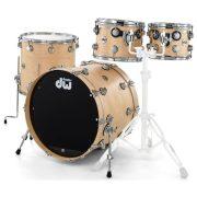 """DrumWorkshop dobszerelés  (22-10-12-16"""") shell pack PERFORMANCE EBONY STAIN"""