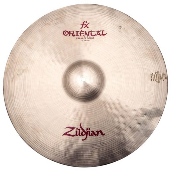 "Zildjian Oriental 22"" FX Crash Of Doom cintányér, A0623"
