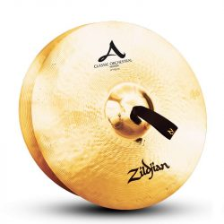 "Zildjian 17"" CLASSIC ORCHESTRAL SELECTION MEDIUM PAIR"