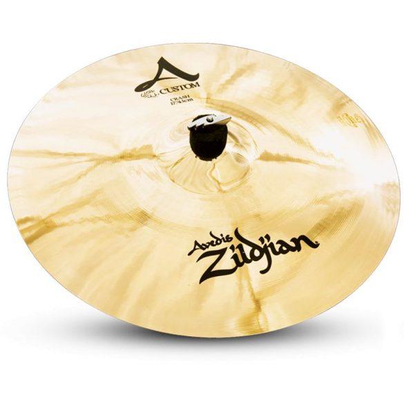 "Zildjian 17"" A CUSTOM CRASH BRILLIANT"