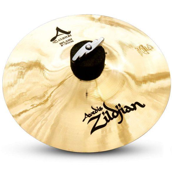 """Zildjian 8"""" A CUSTOM SPLASH BRILLIANT"""