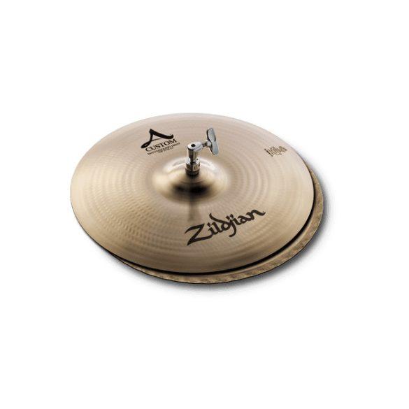 """Zildjian 15"""" A CUSTOM MASTERSOUND Hi-hats lábcintányér, A20553"""