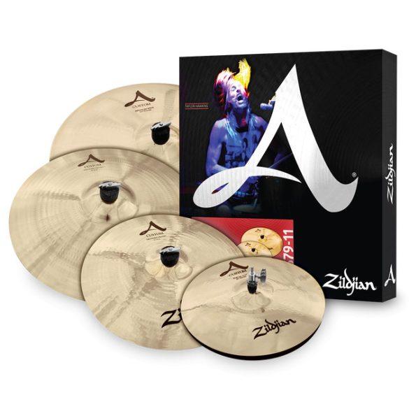 """Zildjian A-Custom cintányér szett + ajándék 18"""" crash,  A20579-11"""