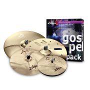 """Zildjian A-custom Gospel Pack 14""""H,17""""-18""""C,21""""R AC0801G"""