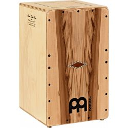 MEINL Percussion Artisan Edition Cajon Seguiriya Line Indian Heartwood, AESELIH