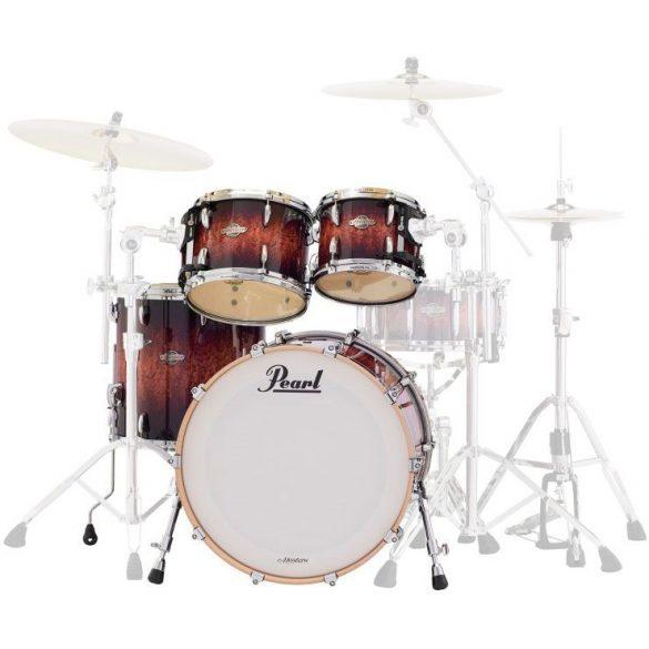 "Pearl Masters Customs  Birch BCX dobszerelés, Shell pack (22-10-12-14"")  Lava Bubinga szín, chrom HW  BCX924XFP/C818"