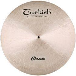 """Turkish Classic 16"""" Crash cintányér,  C-C16"""