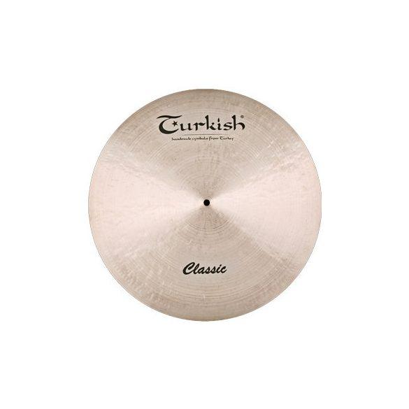 "Turkish Classic 18"" DARK Crash cintányér, C-CD18"