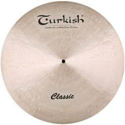 "Turkish Classic 18"" CRASH RIDE cintányér, C-CR18"