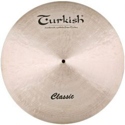 "Turkish Classic 18"" CRASH RIDE cintányér, C-CR18"