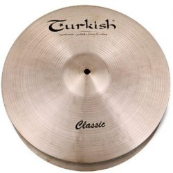 "Turkish Classic 13"" Hi-Hats LIGHT lábcintányér,  C-HL13"
