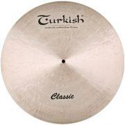 "Turkish Classic 22"" RIDE cintányér, C-R22"