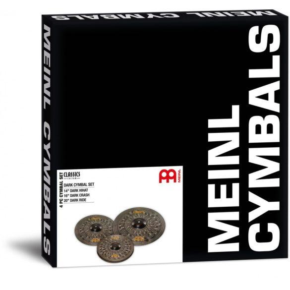 Meinl Classics Custom Dark cintányér készlet, CCD141620