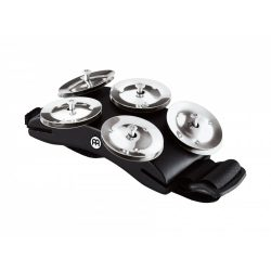 Cajon Foot Tambourine Black CFT5-BK