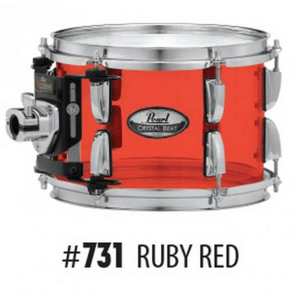 Pearl Crystal Beat Shell-pack(22-12-14-16) Ruby Red CRB524FP/C731