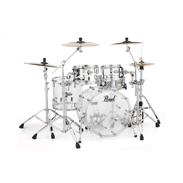 Pearl Crystal Beat Shell-pack (22-10-12-16) Ultra Clear CRB524P/C730