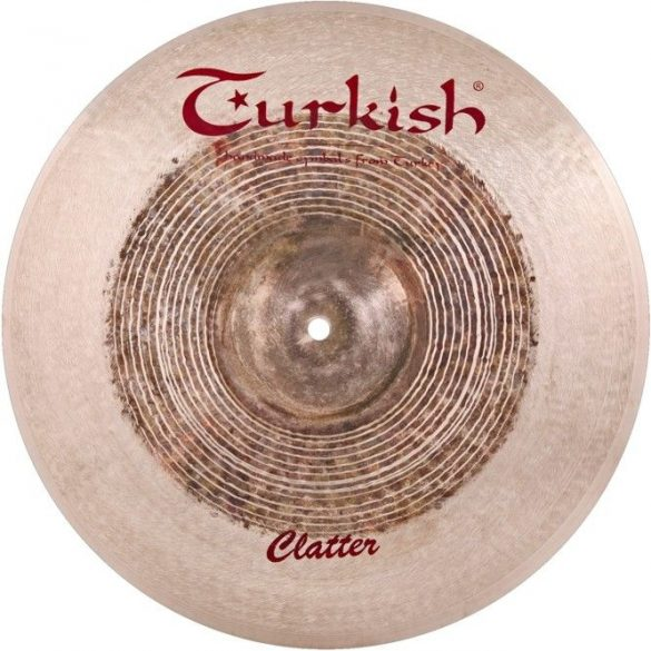 "Turkish Clatter 16"" Crash cintányér"