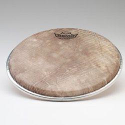 "Remo, Doumbek Drumhead, Dx Series, SKYNDEEP®, 9"" Diameter, 3/8"" Collar, Crimped Hoop, 'Fish Skin' Graphic"