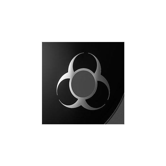 "Remo, DynamO, ""Biohazard"", 3"" Diameter, Chrome"