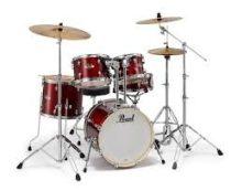 Pearl Export Limitált dobfelszerelés (18-10-12-14-1-13S) Black Cherry Glitter szín, EXX785P/C704