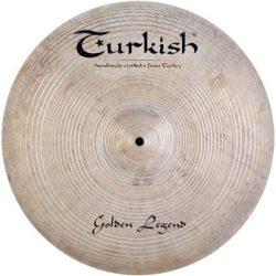 """Turkish Golden Legend 17"""" CRASH cintányér"""