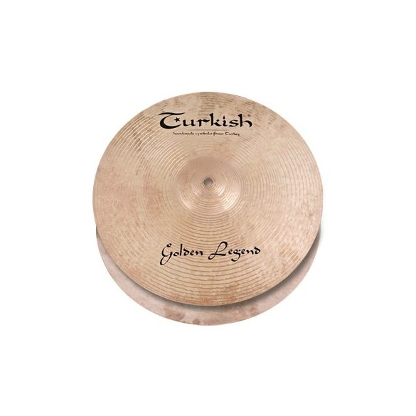 "Turkish Golden Legend 13"" Hi-Hats lábcintányér, GL-H13"
