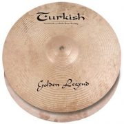 "Turkish Golden Legend 14"" Hi-Hats lábcintányér, GL-H14"