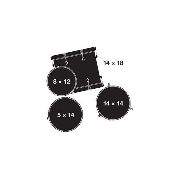 "Gretsch Catalina Club  Shell-pack (18-12-14-14S"") CT1-J484-SWG"