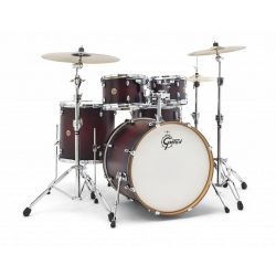 "Gretsch Catalina Maple GR804071 dobszerelés (22-10-12-16-14S"") shell pack Satin Deep Cherry Burst CM1-E825-SDCB"
