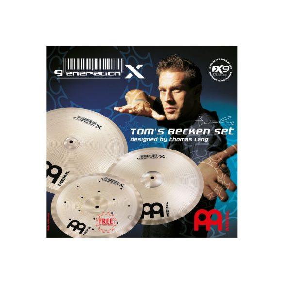 Meinl Generation X TOM'S cintányér szettje, GX-TB14-16-18