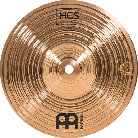 """Meinl HCS Bronze 8"""" Splash HCSB8S"""