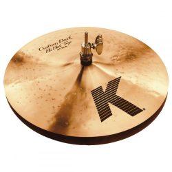 """Zildjian 13"""" K CUSTOM DARK Hi-hats lábcintányér, K0940"""