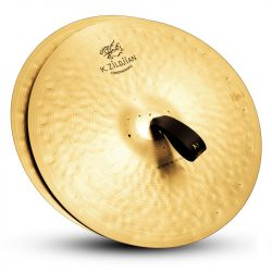"Zildjian 18"" K CONSTANTINOPLE SPECIAL SELECTION MEDIUM HEAVY PAIR W/PADS, STRAPS & BAG"