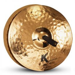 "Zildjian 18"" K SYMPHONIC LIGHT PAIR BRILLIANT"