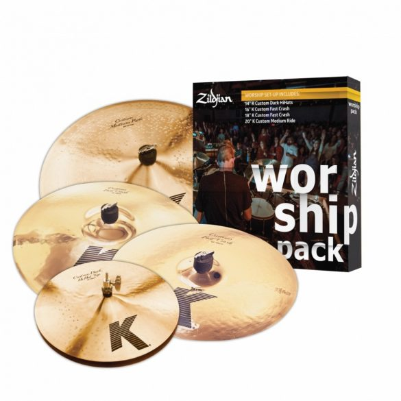 "Zildjian K-custom Worship Pack 14""H,16""-18""C,20""R KC0801W"