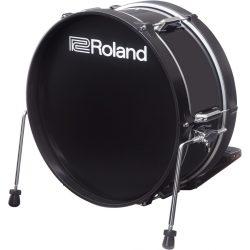 """Roland KD-180L-BK Acoustic Design Elektromos lábdob ütőfelület 18""""  (lábgép nélkül)"""