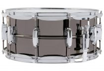 "Ludwig 14x6,5""  Black Beauty Supra-Phonic pergődob, LB417"