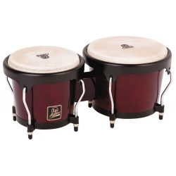 LP Aspire Bongos, Red Wood