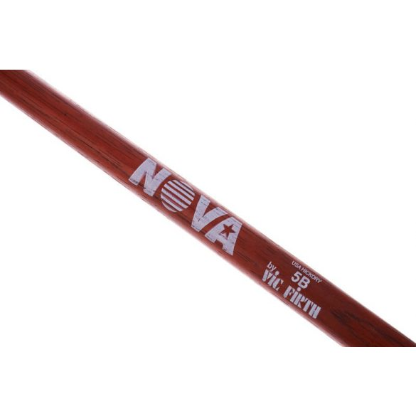 Vic Firth 5B Red NOVA imprint dobverő N5BR
