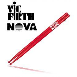 Vic Firth 7A in red with NOVA imprint dobverő