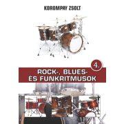 Korompay Zsolt: Rock, Blues- és Funkritmusok 4
