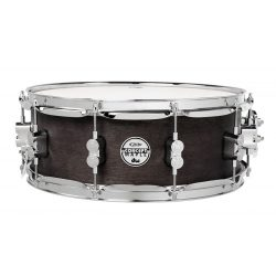 "DW PDP Black Wax Over Maple pergődob, 14""x 5,5"""